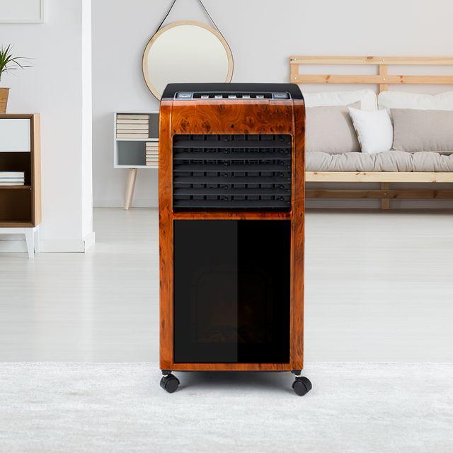 Ventilador climatizador aircooler premium madera