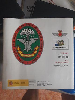 Tríptico Fuerzas Especiales EZAPAC