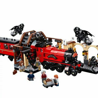 Tren Harry Potter Compatible Lego
