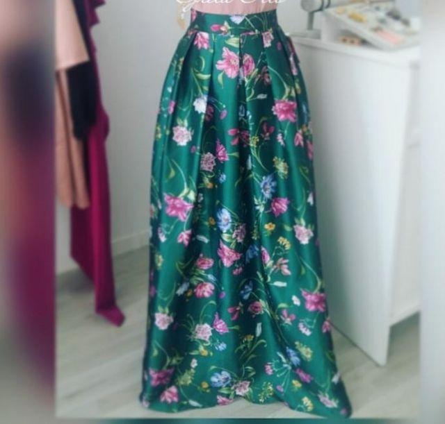 otra oportunidad diseño elegante 100% de satisfacción Faldas largas estampadas nuevas (toca para ver más de ...