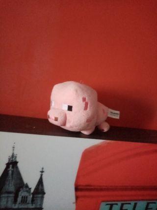 PELUCHE MINECRAFT - Bebé cerdo.