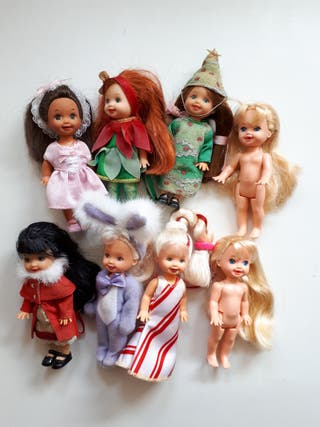 Lote muñecas Shelly/Kelly
