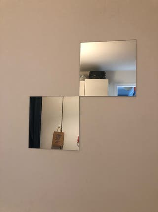 Lots miroir 2 pièces