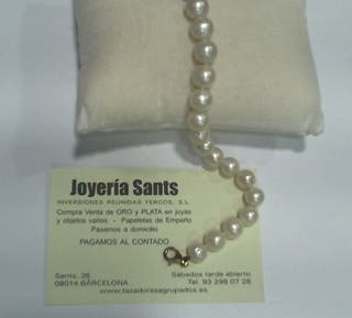 fd856f16b895 Pulsera de perlas cultivadas de segunda mano en Barcelona en WALLAPOP