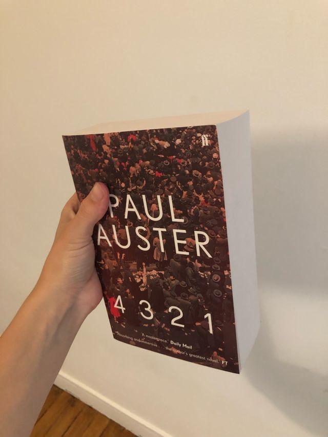 4 3 2 1 Paul Auster