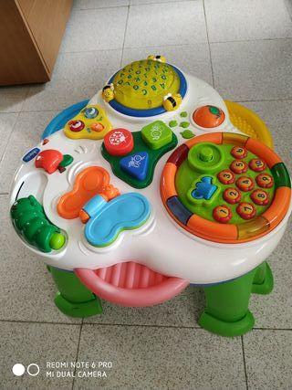 Mesa musical juego niño