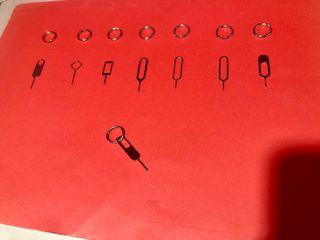 Pincho para extraer SIM con anilla