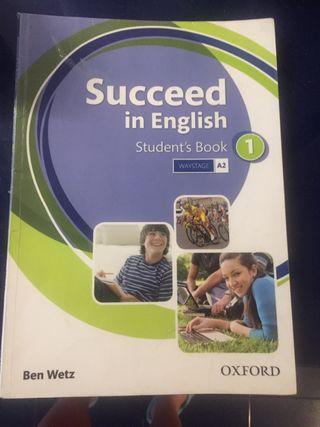 Libro inglés Succeed in english 1 ESO