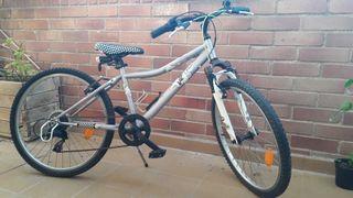 Bicicleta junior 24 pulgadas.