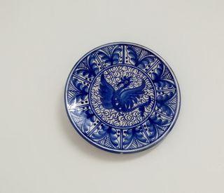 platos azulejo
