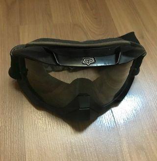 Gafas moto enduro Fox oscuras