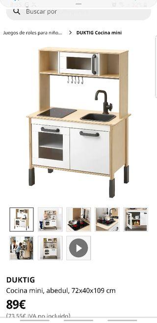 De En Mano Cocina 40 € Juguete Madrid Ikea Por Segunda Madera k0OPnw