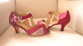 Con Baile Segunda En Cuero De Suela Zapatos Provincia Mano La K13lTFJc