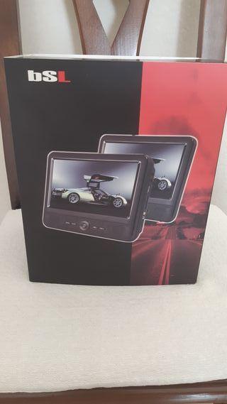 DVD portátil para coche con dos pantallas