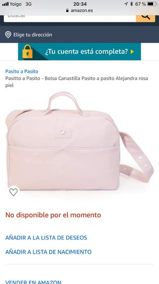 Bolso bebé rosa