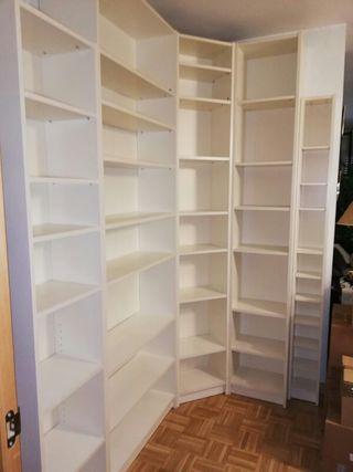 Estantería Billy, IKEA, color blanco