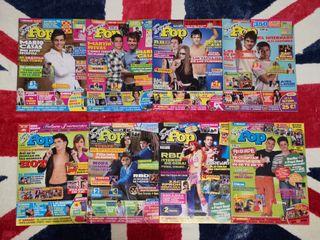 Lote de revistas Super pop