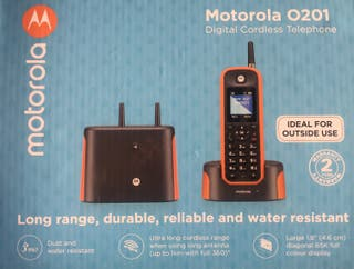 Motorola O201 Teléfono Fijo inalámbrico nuevo