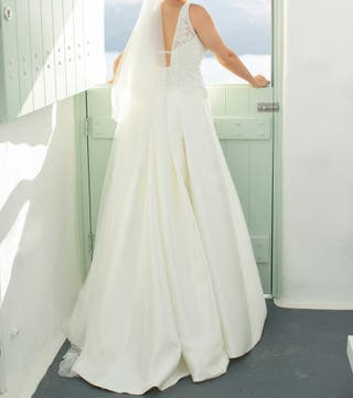60d0335f2d1b Vestido de novia de segunda mano en Cádiz en WALLAPOP
