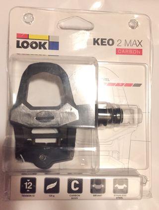 calas LOOK KEO 2 MAX TITAN SUPER LITE 124gr