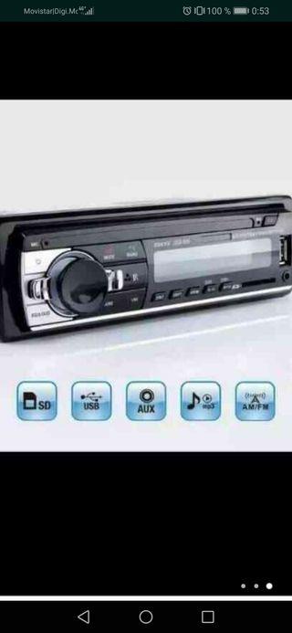 radio para coche nuevo