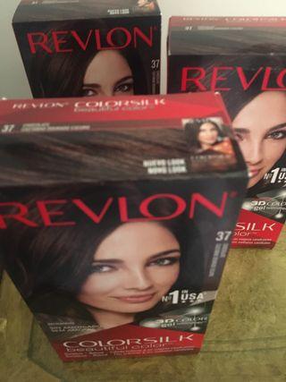Tinte pelo lote 3 cajas