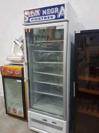 congelador isa puerta cristal