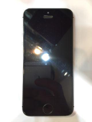 06adc524026 Iphone 5s negro de segunda mano en Barcelona en WALLAPOP