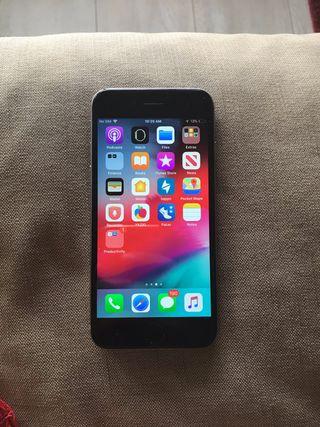 5fae90fec66 Iphone SE plata de segunda mano en Granada en WALLAPOP