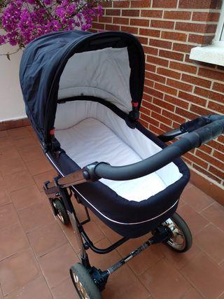 carrito bebecar, capazo, silla y huevito
