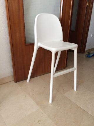 Silla alta para niños y niñas, blanco. Ikea
