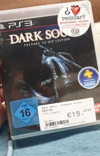 PS3 DARK SOULS PREPARE TO DIE