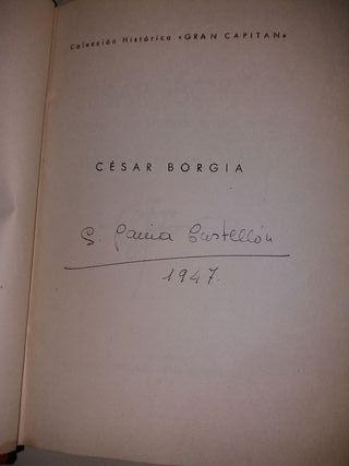 Biografia CESAR BORGIA
