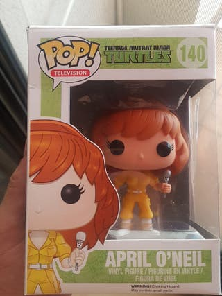 Funko pop April O'Neil