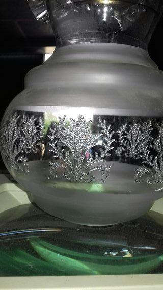 Tulipas antiguas cristal tallado