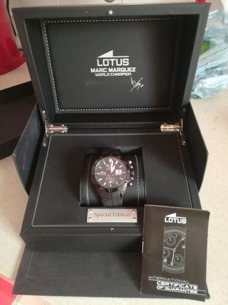 Reloj Lotus edición limitada Marc Marquez