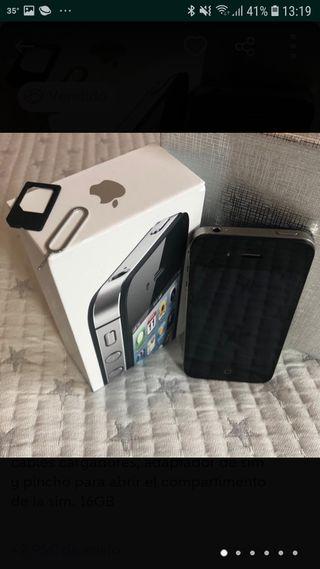 3fd0867ea1c Cargador IPhone 4. Funciona perfecto. Teléfono móvil IPHONE 4S