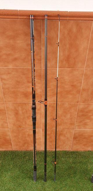 0f0974314ba Caña de pescar híbridas de segunda mano en WALLAPOP