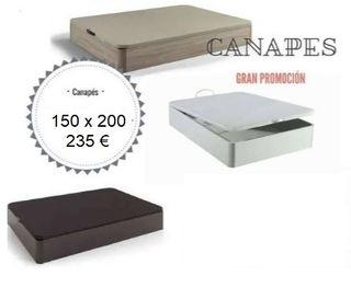 Canape 150 x 200, nuevos
