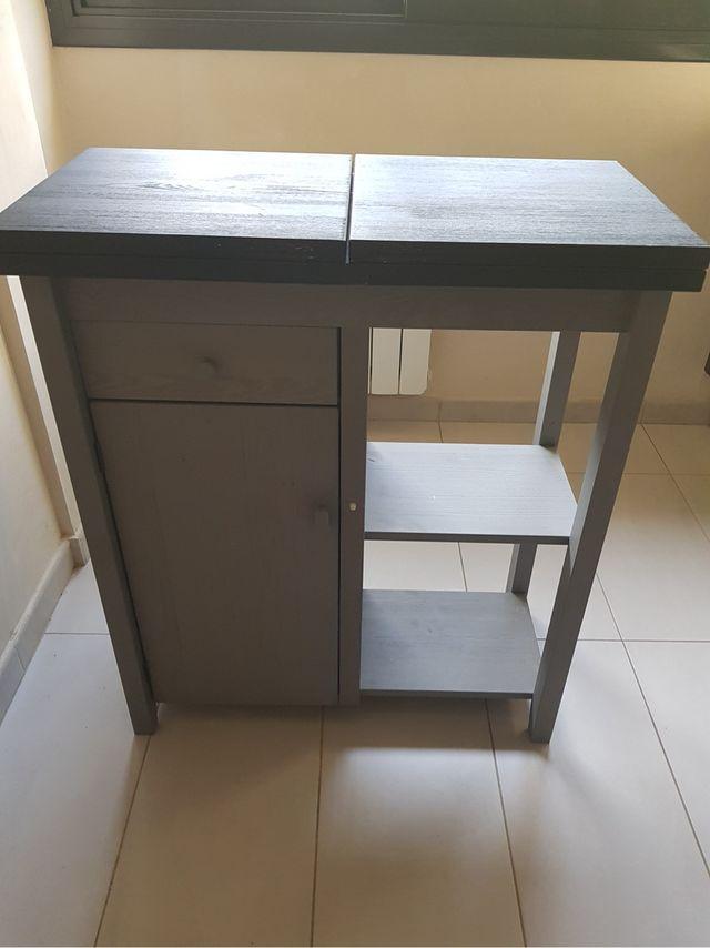 Mueble auxiliar barra cocina de segunda mano por 70 € en Cubelles en ...