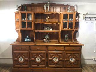 Mueble Salon Madera Maziza