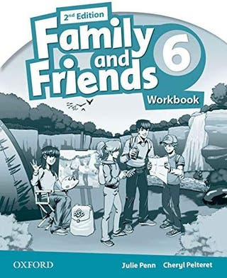 NUEVO Family and Friends 6 Activity Book Oxford
