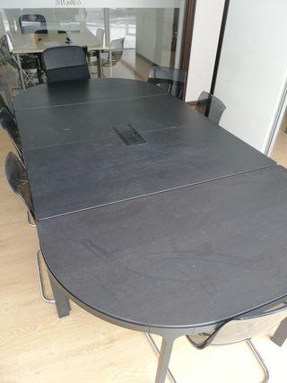 Mesa para oficina Ikea de segunda mano en Madrid en WALLAPOP