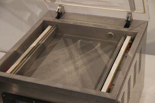 Envasadora al vacío doble sellado 400 mm