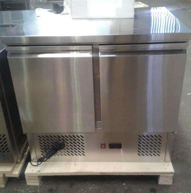 Bajo mostrador refrigerado 2 puertas 120x60x85 cm