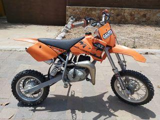 moto KTM infantil