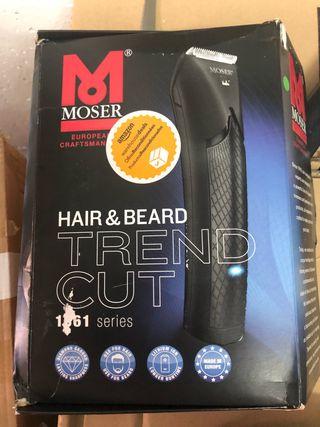 Moser Trend Cut Li + - Cortapelos con bolsa