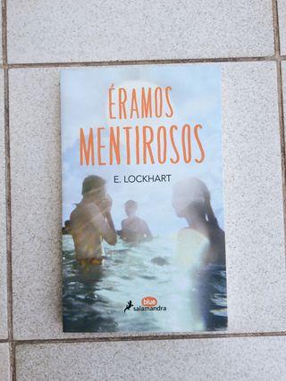 Libro 'Éramos mentirosos' de E.Lockhart
