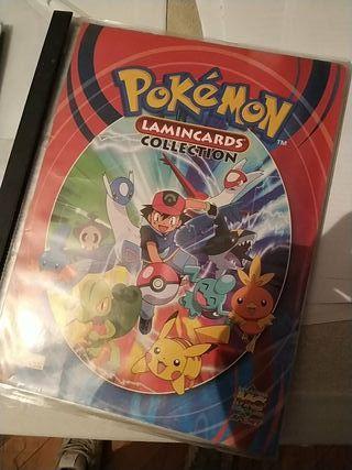 colección cromos de Pokémon entera