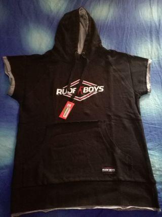 camiseta rude boys nueva con etiquetas, talla L